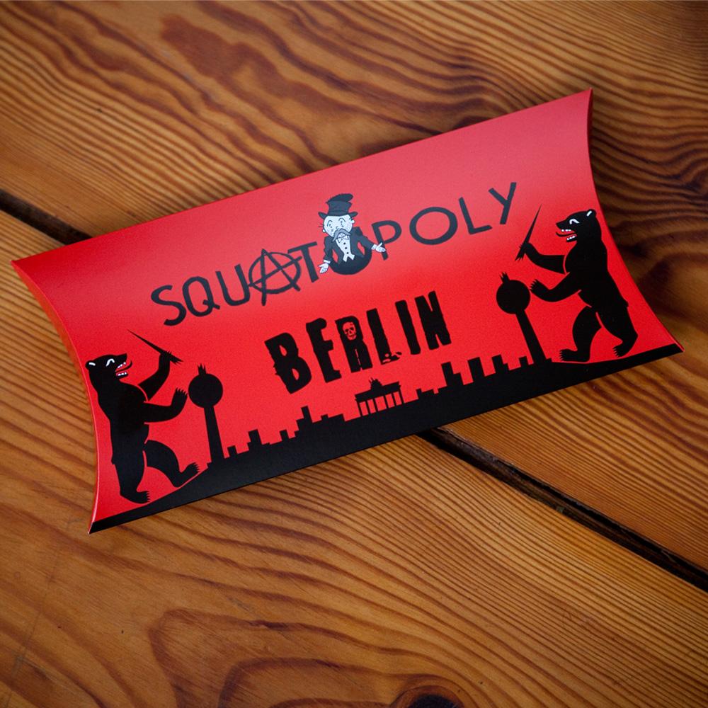 Squatopoly Verpackung